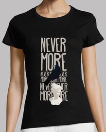 t-shirt donna - never più