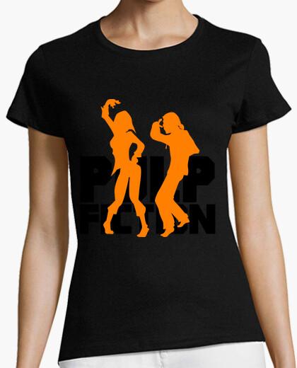 T-shirt donna - pulp narrativa