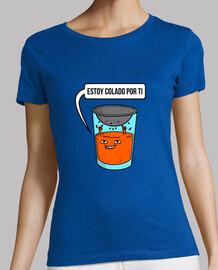t-shirt donna - succo d'arancia