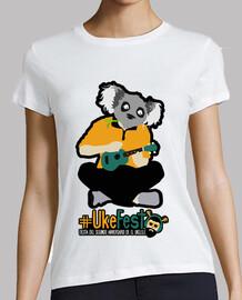 t-shirt donna - #ukefest