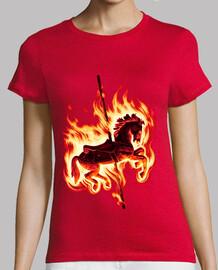 t-shirt donna arre caballito
