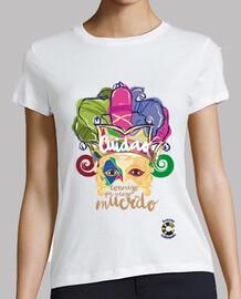 t-shirt donna cane andalusa t-shirt donna
