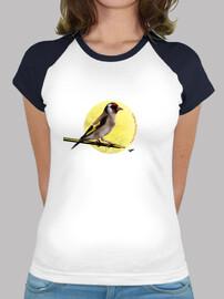 t-shirt donna cardellino