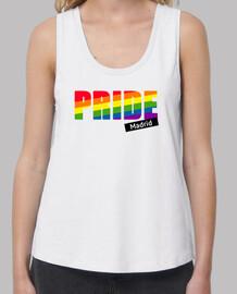 t-shirt donna gay pride, pride world