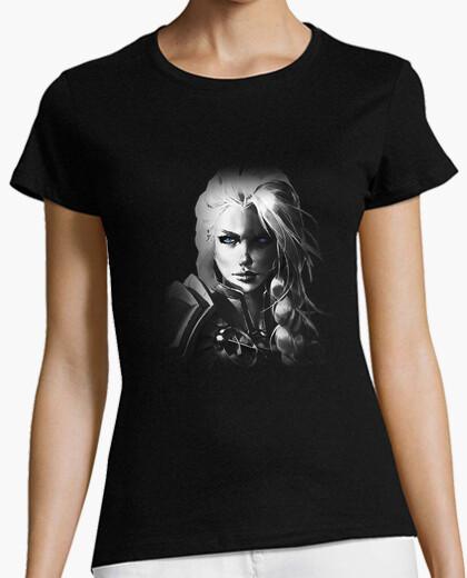 T-shirt donna jaina b&n