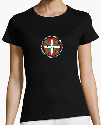 T-shirt donna, manica corta, -...