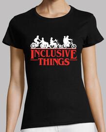 t-shirt donna manica corta cose incluse