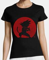 T-shirt donna, manica corta, cotone organico