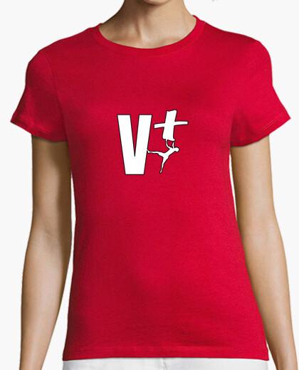 T-shirt Donna, manica corta, rossa,...