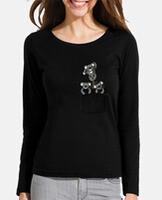 T-shirt donna, manica lunga
