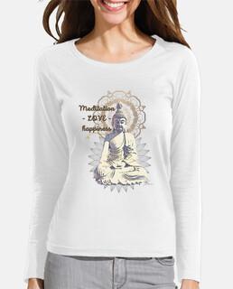 t-shirt donna parole di buddha