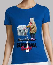 t-shirt donna preparata per la sopravvivenza