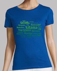 t-shirt donna sierras de alicante # 1