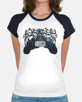 T-shirt donna, stile baseball