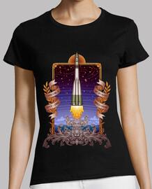 t-shirt donna vostok 1