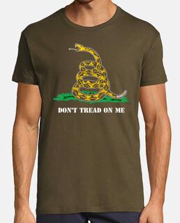 t-shirt dont calpestare me mod.3