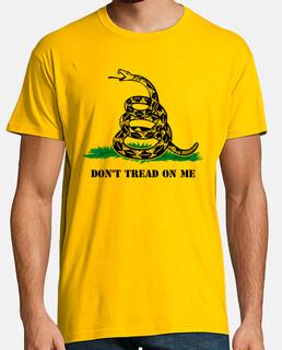 t-shirt dont calpestare me mod.5