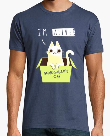 Tee-shirt t-shirt double schrodinger
