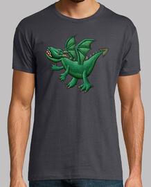 t-shirt dragon vert