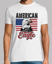t-shirt drapeau américain - américain