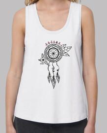 t-shirt dreamcatcher bianca