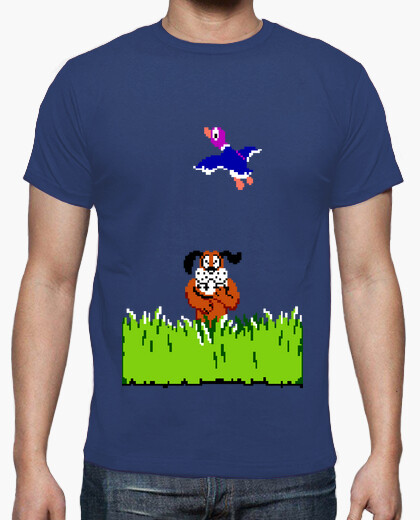 T-shirt duck nes caccia