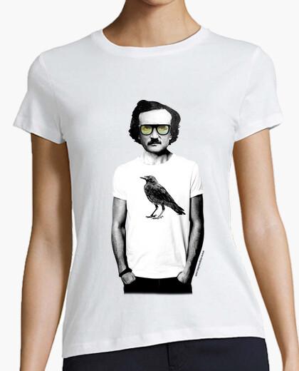T-shirt edgar allan poe, mola