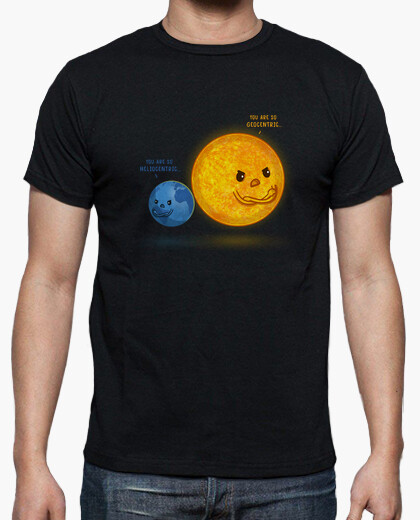 T-shirt eliocentrico