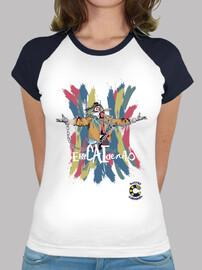 t-shirt encaidenao femme
