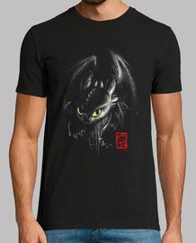 t-shirt encre de fureur