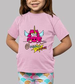 T-shirt Enfant - Licorne Wonder Woman, Comics