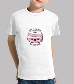 T-shirt enfant ich bin ein Berliner