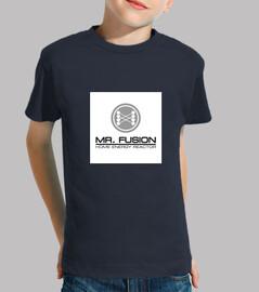 T-Shirt Enfant Mr.Fusion Retour vers le Futur