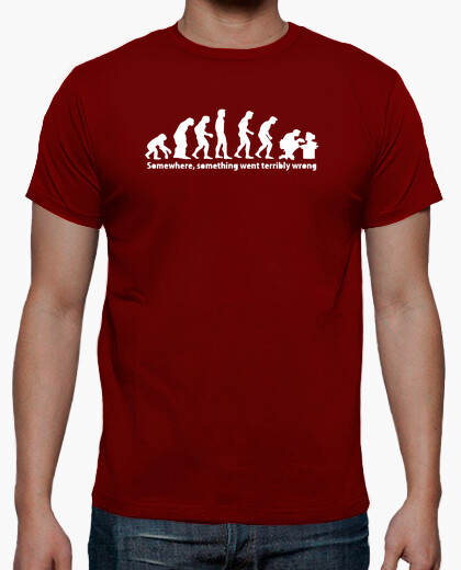 T-shirt evoluzione geek