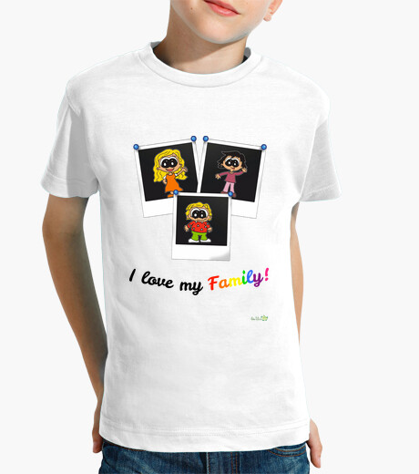 T-shirt family two moms children's clothes