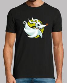 t-shirt fantôme de minuit