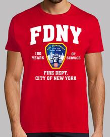 t-shirt fdny 150 anni mod.2