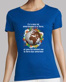 T-Shirt Femme - La Terre