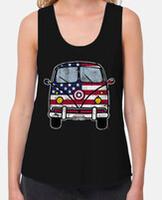 T-shirt femme bretelles amples et Loose Fit