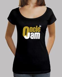 T-shirt Femme décolleté ouvert