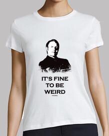 T-Shirt Femme HANNIBAL: It's fine to be weird