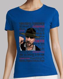 t-shirt femme manche courte muse psycho rock music