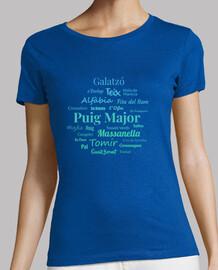 t-shirt femme serra de tramuntana # 1