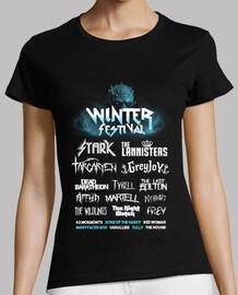 t-shirt festival d'hiver