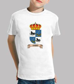 t-shirt figli scudo nome vine