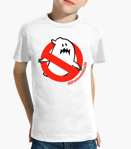 Vêtements enfant t-shirt fille garçon le fantôme d'em