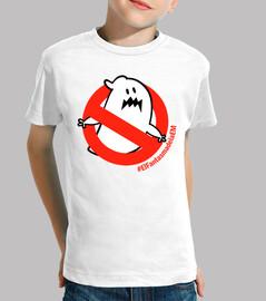 t-shirt fille garçon le fantôme d'em