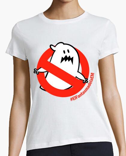 Tee-shirt t-shirt fille le fantôme d'em