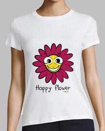 t-shirt fiore ragazze