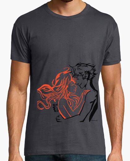T-shirt fuoco puro
